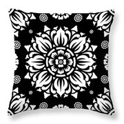 Pattern Art 01-1 Throw Pillow by Bobbi Freelance