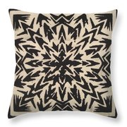 Pattern Creation Throw Pillow