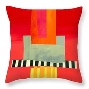Pattern Grid # 14 Throw Pillow