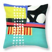 Pattern Grid #2 Throw Pillow