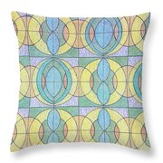 Pattern Of Serenity Throw Pillow