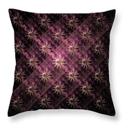 Pattern Of Stars Throw Pillow