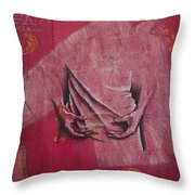 Pattern Pieces Throw Pillow