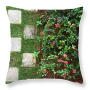 Pattern Work Throw Pillow