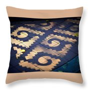 Patterns Azteca Throw Pillow