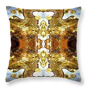Patterns In Stone - 146b Throw Pillow