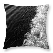 Patterns In The Sea Throw Pillow