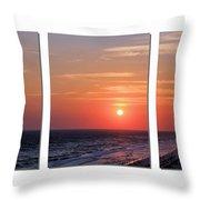 Patterns Of Sunset Throw Pillow