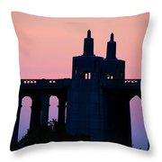 Patterson Architecture Sunrise Throw Pillow