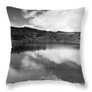 Pau-pique Lake Throw Pillow