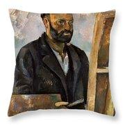 Paul Cezanne (1839-1906) Throw Pillow