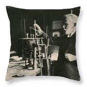 Paul Ehrlich, German Immunologist Throw Pillow by Photo Researchers