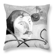 Paul Gauguin Throw Pillow