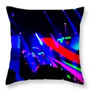 Paul In Concert Throw Pillow