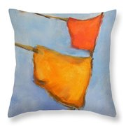paul klee Painting, Scarecrows  Throw Pillow