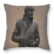 Paul Mccartney N F Throw Pillow
