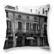 Paul Morphy House Throw Pillow