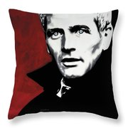 Paul Newman Throw Pillow