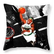 Paul Pierce In The Paint Throw Pillow