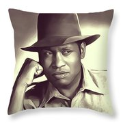 Paul Robeson, Vintage Actor And Singer Throw Pillow