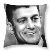 Paul Ryan Throw Pillow