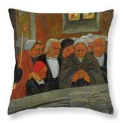Paul Serusier 1864 - 1927 Devotion To S. Herbot Forgiveness Throw Pillow