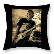 Paul Warren Rockin' Throw Pillow