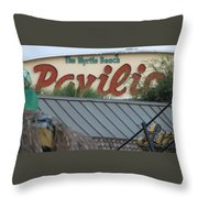 Pavilion Chaos Throw Pillow