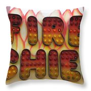 Pavilion Fire Chief Throw Pillow