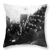 Pavlov In Lecture Theater, 1904 Throw Pillow
