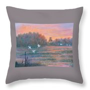 Pawleys Island Throw Pillow by Ben Kiger