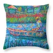 Pawleys Island Fisherman Throw Pillow