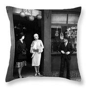 Pawn Shop, C1925 Throw Pillow