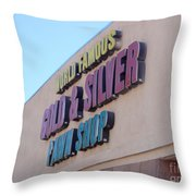 Pawn Stars Shop - Las Vegas Nevada Throw Pillow