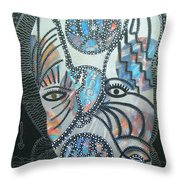 Pay Attention To The Ice Man Throw Pillow