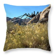 Payback Throw Pillow