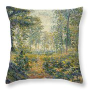 Paysage Boise Throw Pillow