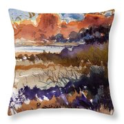 Paysage Cci Throw Pillow