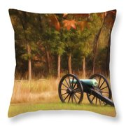 Pea Ridge Throw Pillow by Lana Trussell