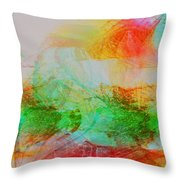 Peace And Light Throw Pillow