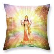 Peace And Prosperity On Earth Throw Pillow