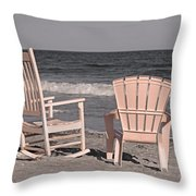 Peace And Purpose Throw Pillow