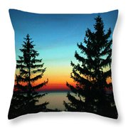 Peace And Quiet 2 Throw Pillow