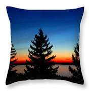 Peace And Quiet 3 Throw Pillow