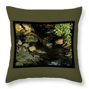 Peace And Security Throw Pillow