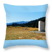 Peace And Solitude Throw Pillow