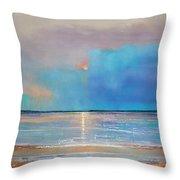 Peace Beach Throw Pillow