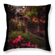 Peace Before The Storm - Roses Throw Pillow