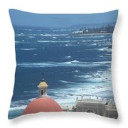 Peace By The Sea Throw Pillow
