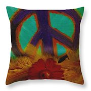 Peace Every Day Throw Pillow